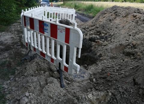 Budowa kanalizacji na ul. Cieplaka-2