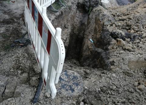 Budowa kanalizacji na ul. Cieplaka-3