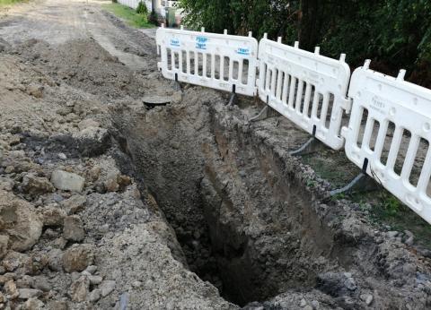 Budowa kanalizacji na ul. Cieplaka-4